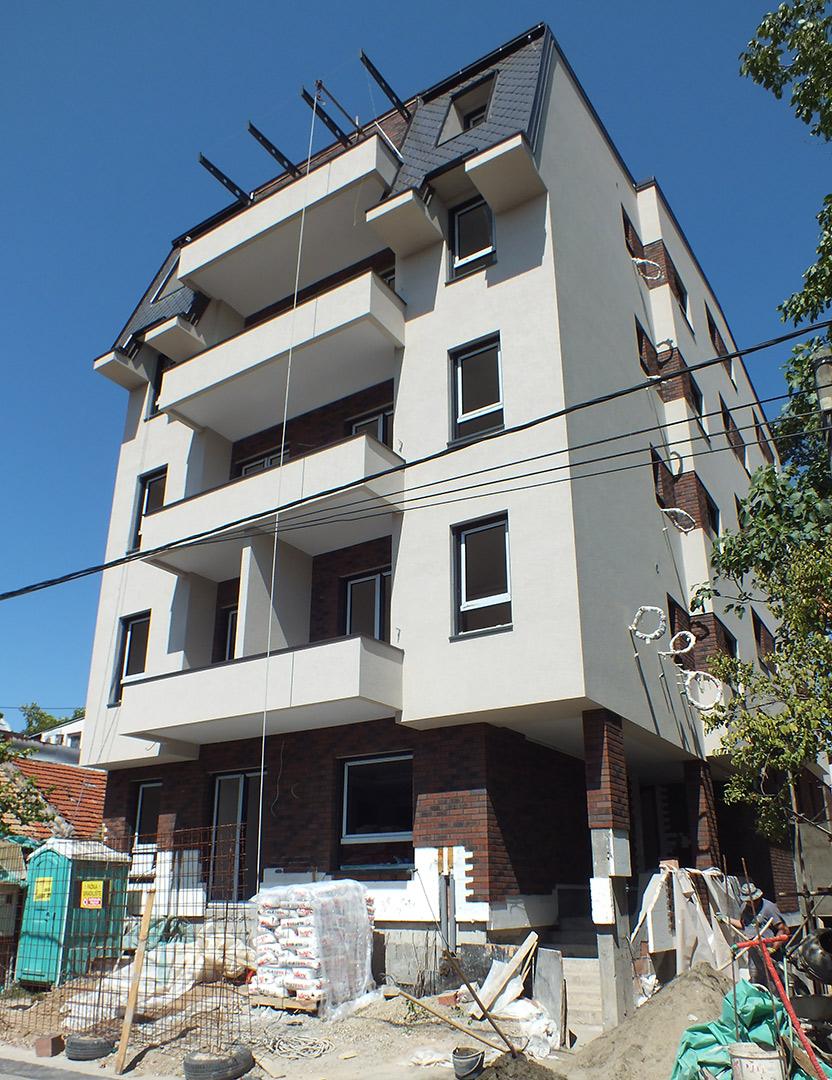 Tetovska, Beograd, radovi u toku